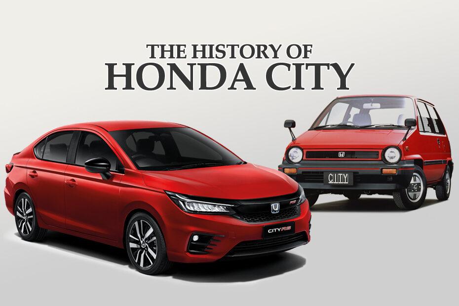 Honda City History