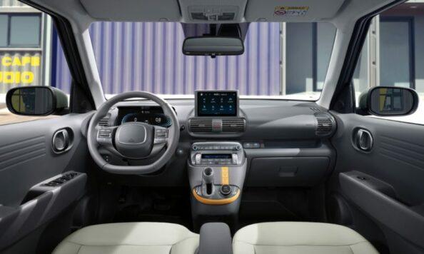 Hyundai Casper Interior and Features Revealed 4