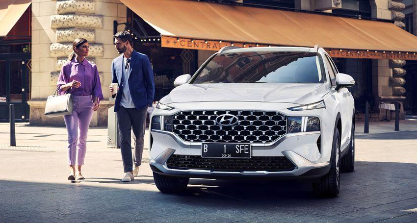 2021 Hyundai Santa Fe Facelift Launched in Indonesia 1