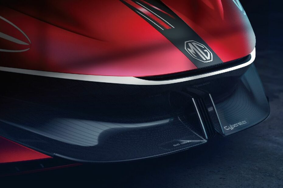 MG Cyberter EV Sportscar Concept Teased Ahead of Official Unveil 2