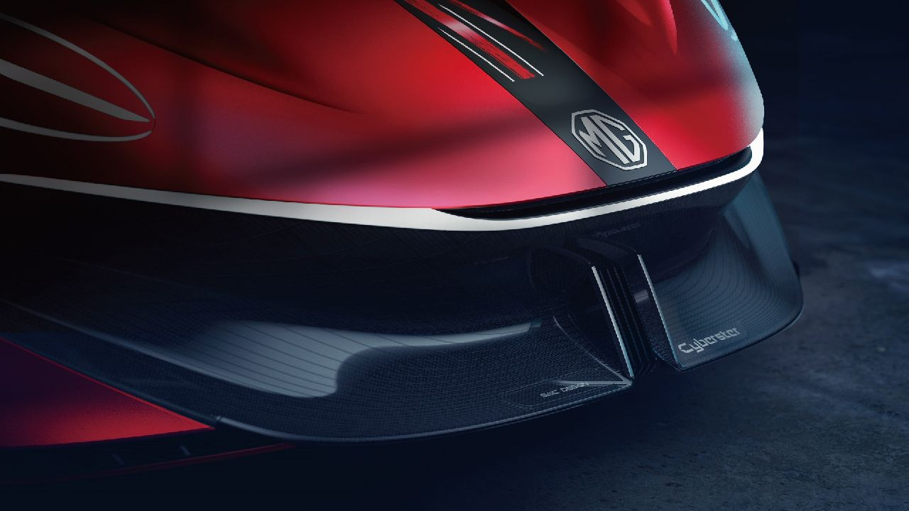 MG Cyberter EV Sportscar Concept Teased Ahead of Official Unveil 1
