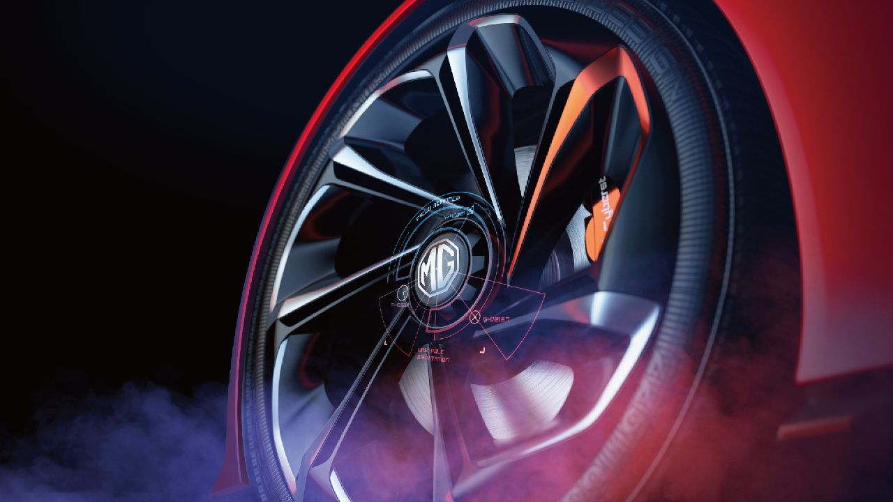 MG Cyberter EV Sportscar Concept Teased Ahead of Official Unveil 4