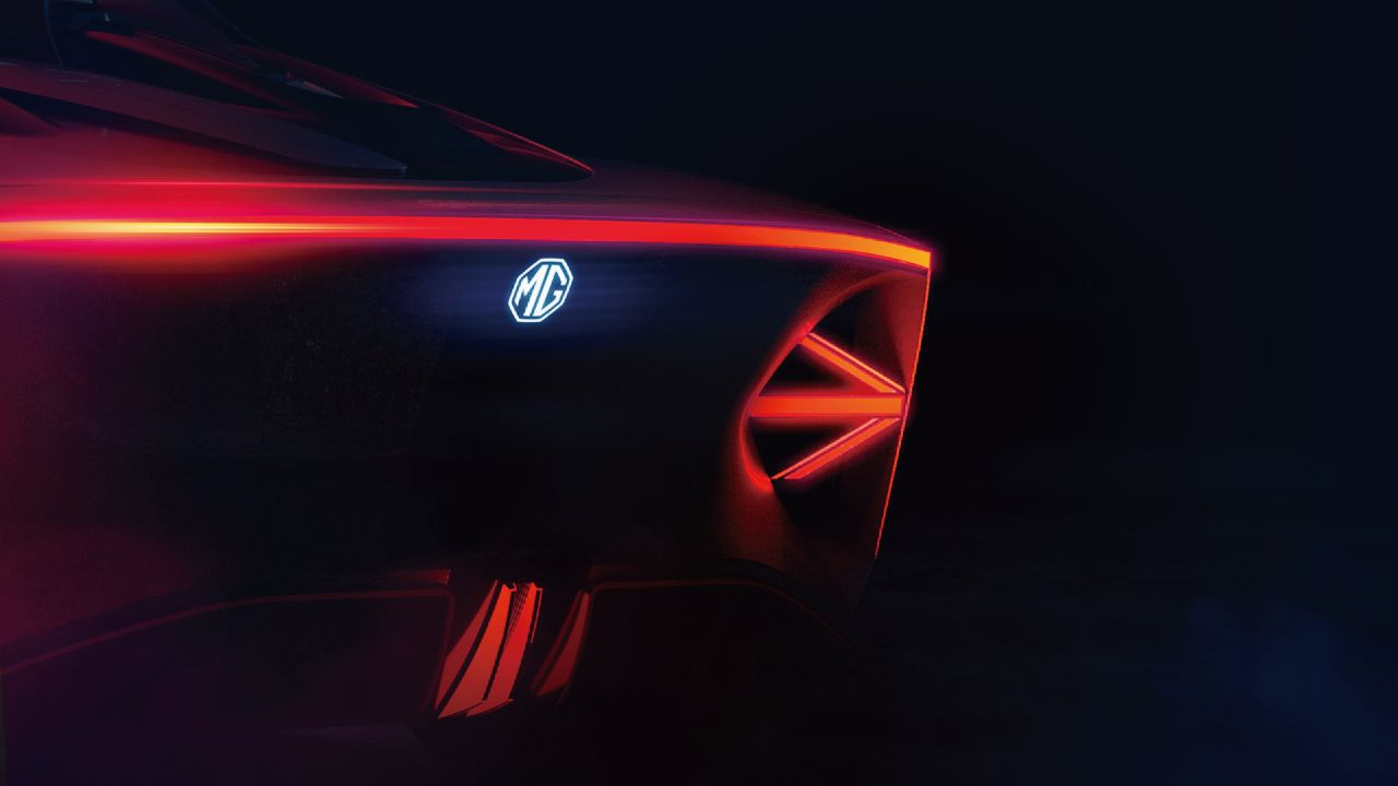 MG Cyberter EV Sportscar Concept Teased Ahead of Official Unveil 3