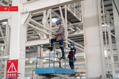 Construction Work at MG Plant in Full Swing 8