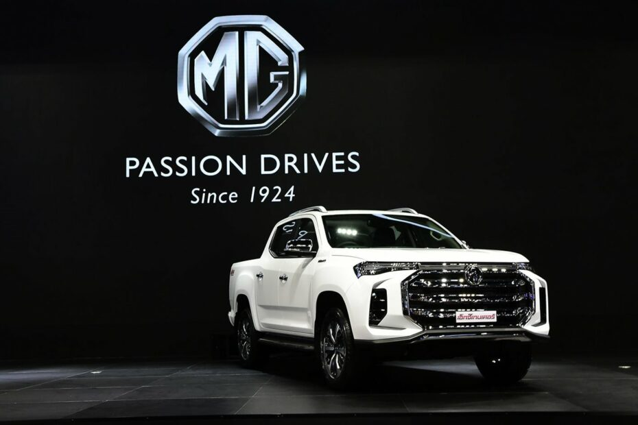 2021 MG Extender Facelift Debuts in Thailand 3