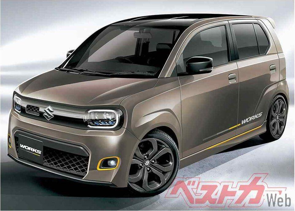 Next gen Suzuki Alto Works