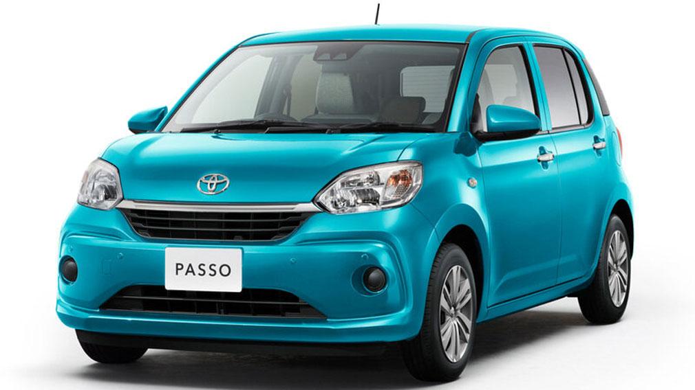 2021 Toyota Passo & Daihatsu Boon Updated in Japan 1
