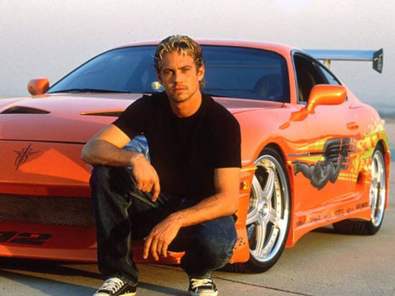 Paul Walkers Cars in Fast and the Furious