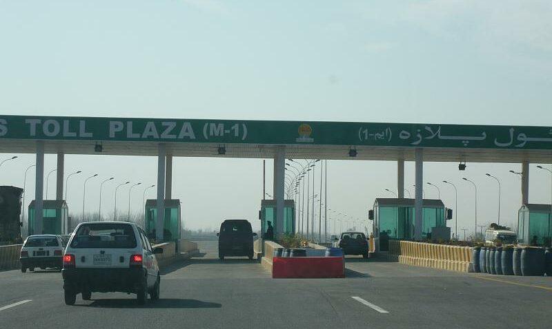 Peshawar Motorway toll