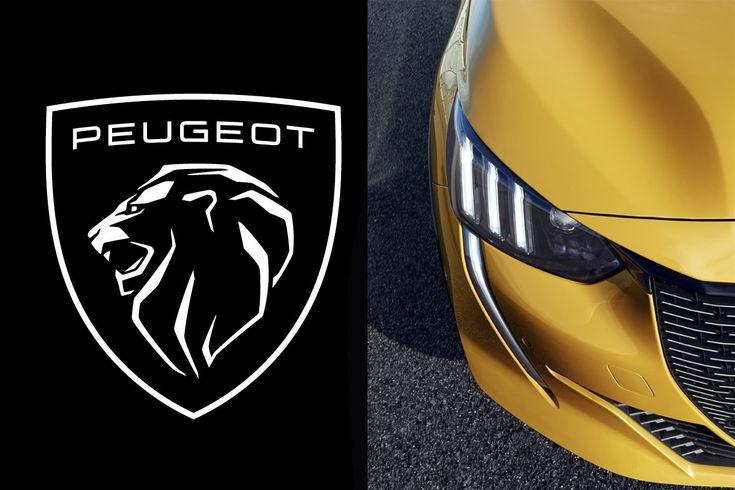 Peugeot new logo cover