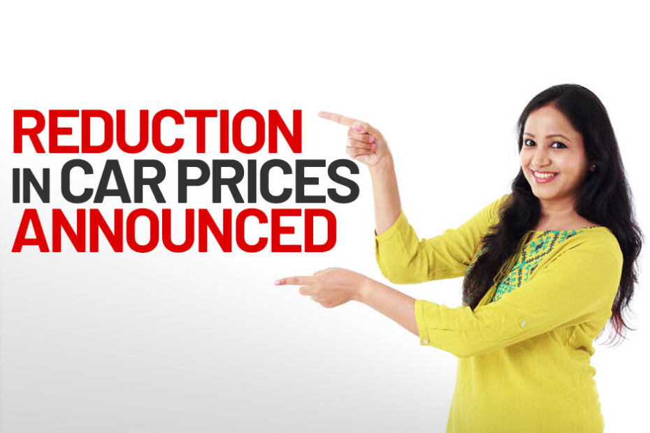 Reduction Car Prices