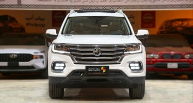 MG RX8- The Upcoming Toyota Fortuner Rival? 1