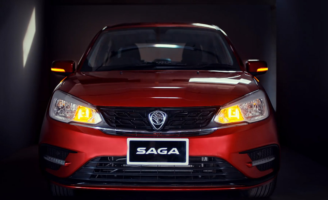 Proton Saga Sedan Launched in Pakistan 1