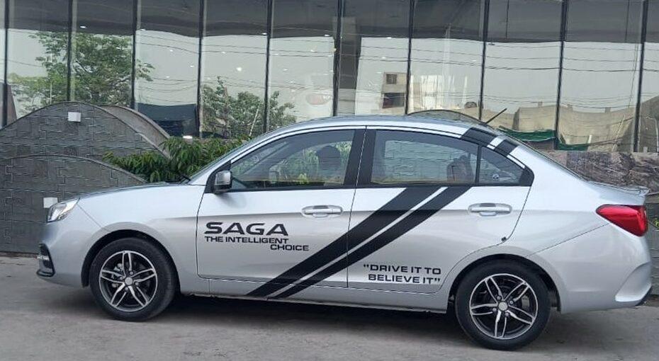 Saga test drive