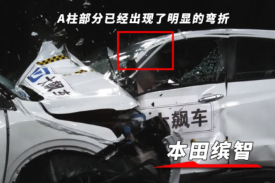 Honda HR-V (Vezel) vs Geely BinYue Crash Test 6