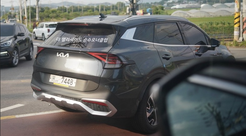Real-Life Images of All New Kia Sportage 28