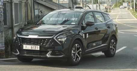Real-Life Images of All New Kia Sportage 23