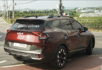 Real-Life Images of All New Kia Sportage 19