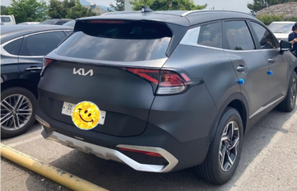 Real-Life Images of All New Kia Sportage 17