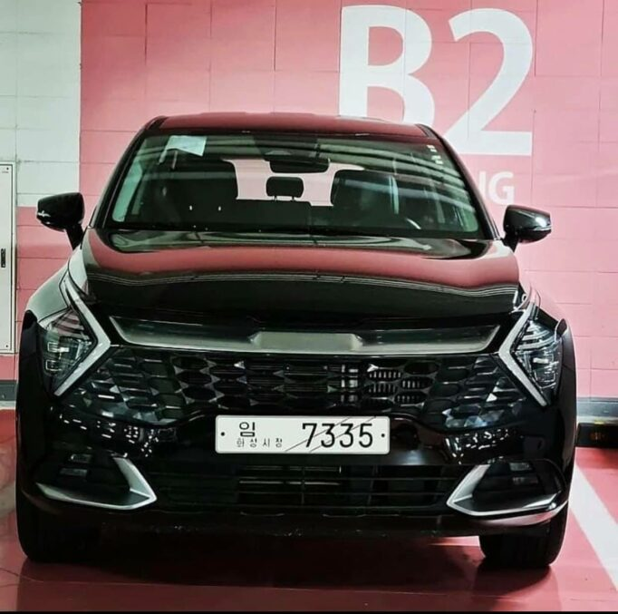 Real-Life Images of All New Kia Sportage 1