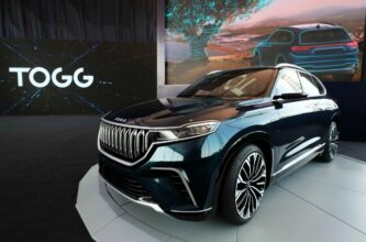 TOGG Shows First Body Assembly of Turkey's Homegrown Car 14
