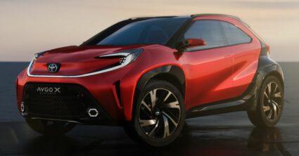 Toyota Reveals Next Generation Aygo as Stylish Small Crossover 5