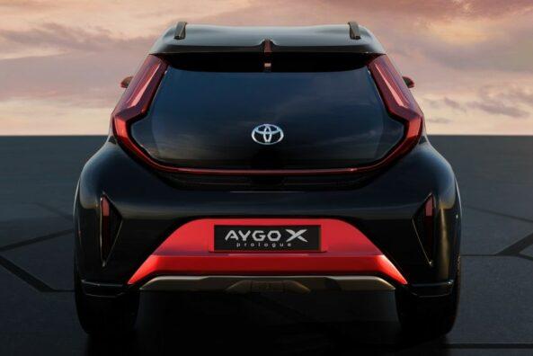 Toyota Reveals Next Generation Aygo as Stylish Small Crossover 12