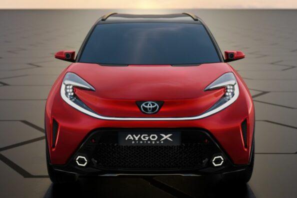 Toyota Reveals Next Generation Aygo as Stylish Small Crossover 11