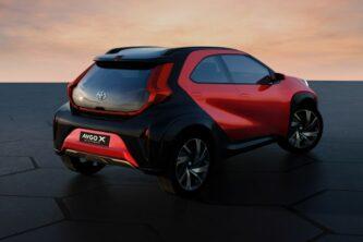 Toyota Reveals Next Generation Aygo as Stylish Small Crossover 6
