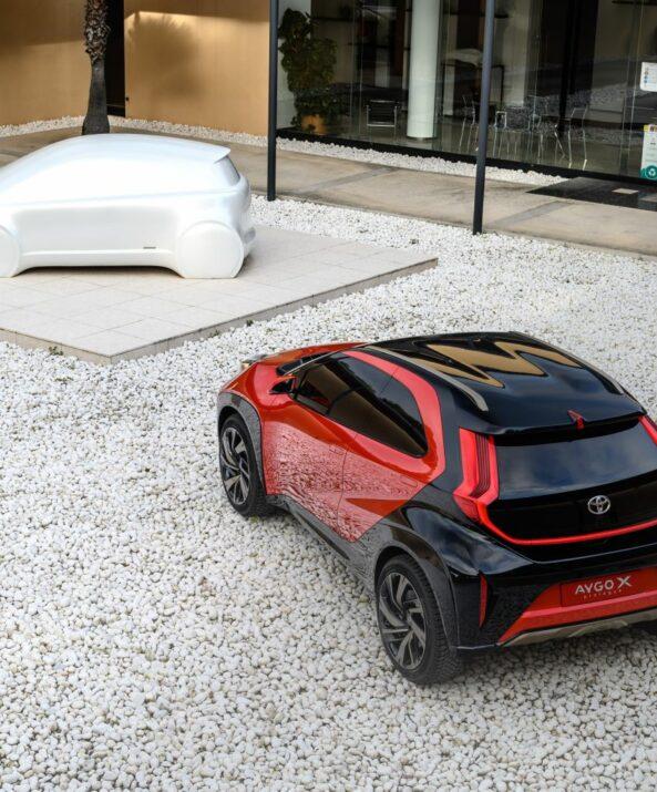 Toyota Reveals Next Generation Aygo as Stylish Small Crossover 3