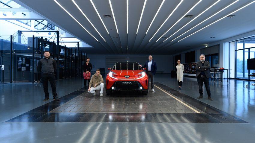 Toyota Reveals Next Generation Aygo as Stylish Small Crossover 4