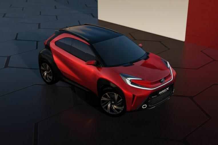 Toyota Reveals Next Generation Aygo as Stylish Small Crossover 8