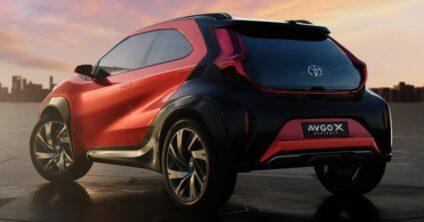Toyota Reveals Next Generation Aygo as Stylish Small Crossover 10