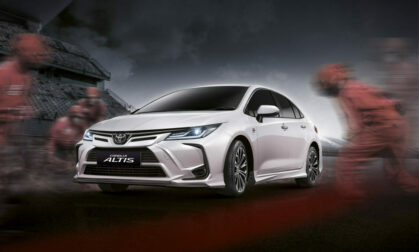 Toyota Corolla Altis Gets Nurburgring Accessory Kit in Thailand 1