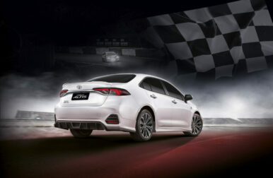 Toyota Corolla Altis Gets Nurburgring Accessory Kit in Thailand 2