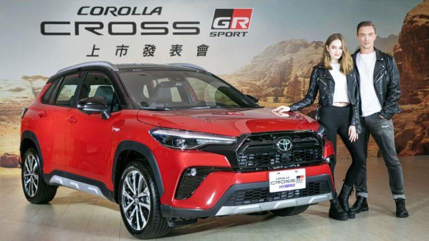 Toyota Corolla Cross GR Sport Taiwan 10 850x516 1