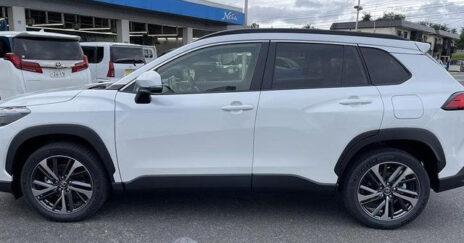 JDM Toyota Corolla Cross Revealed 2