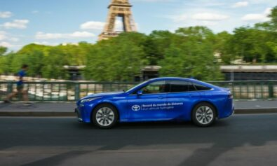 Toyota Snatches World Hydrogen Distance Record from Hyundai 1
