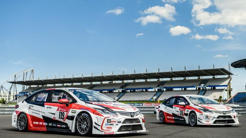 Toyota Thailand 24 Hours of Nurburgring 3 850x567 1