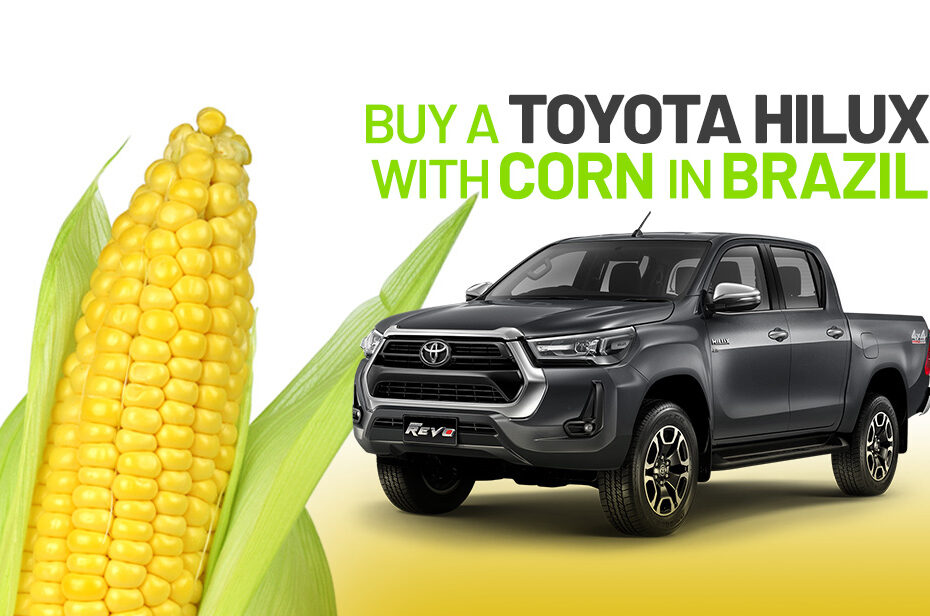 Toyota corn