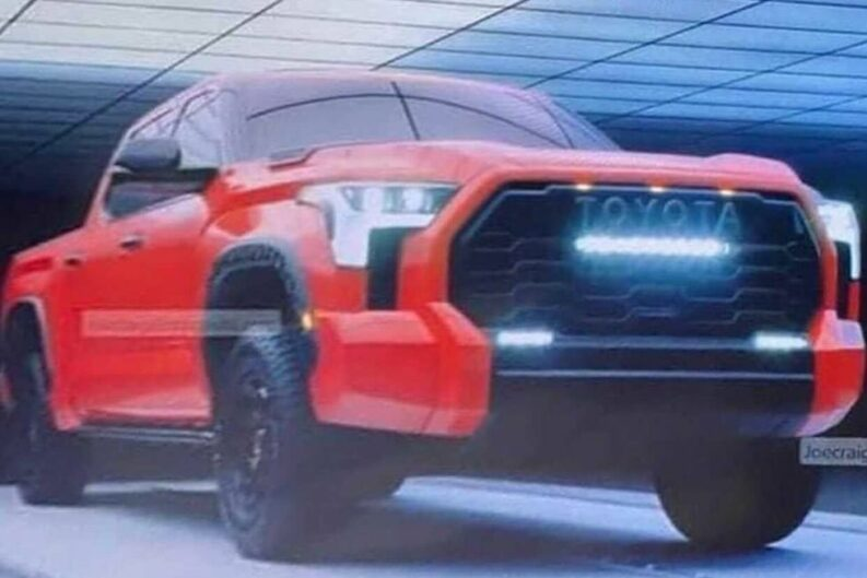 First Official Image of New Toyota Tundra Released 1