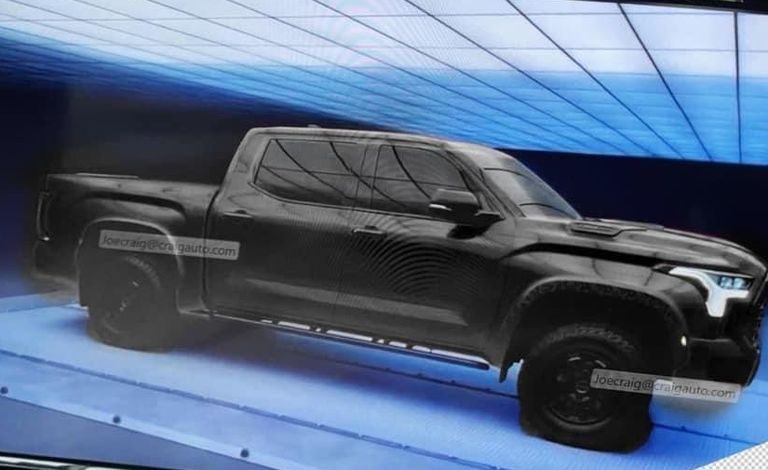 First Official Image of New Toyota Tundra Released 4