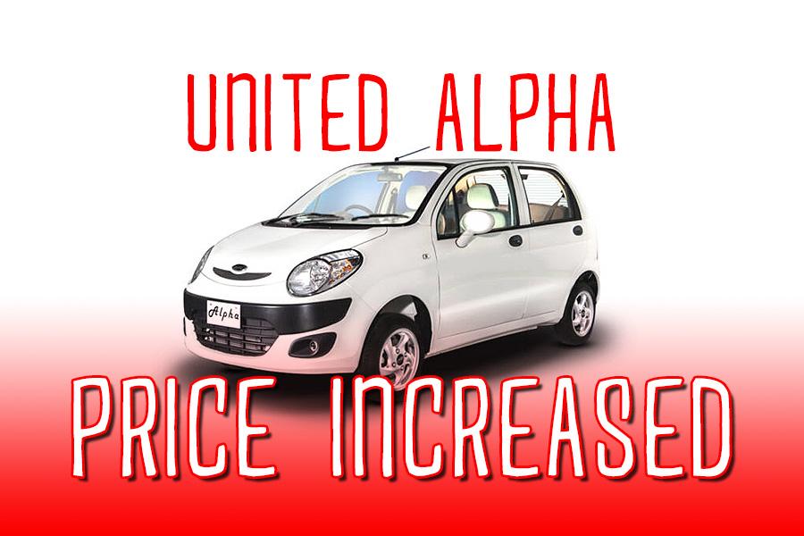 UnitedAlpha price