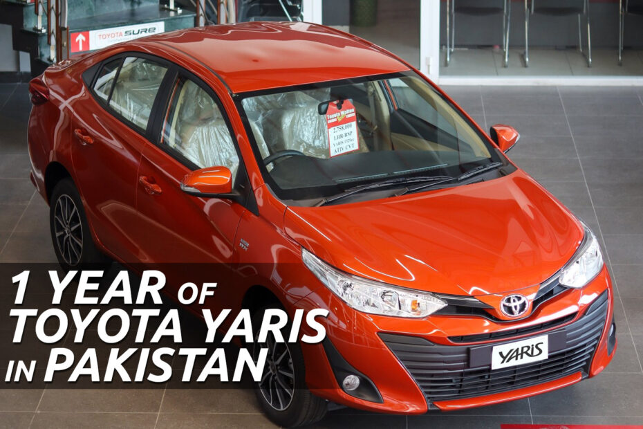 1 Year of Toyota Yaris in Pakistan 5