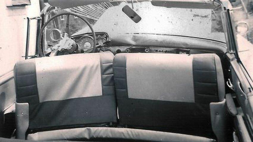 damaged interior