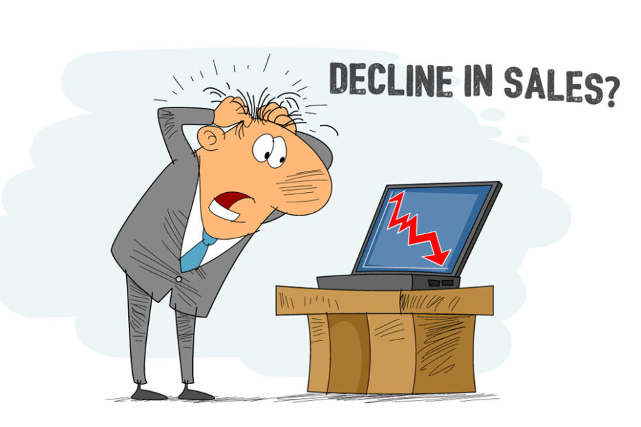 decline sales