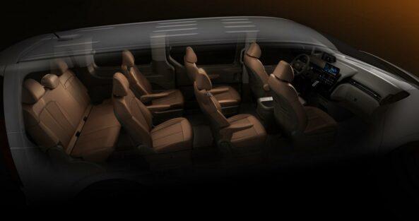 Hyundai Staria Revealed Ahead of Debut 10