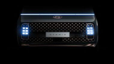 Hyundai Staria Revealed Ahead of Debut 12