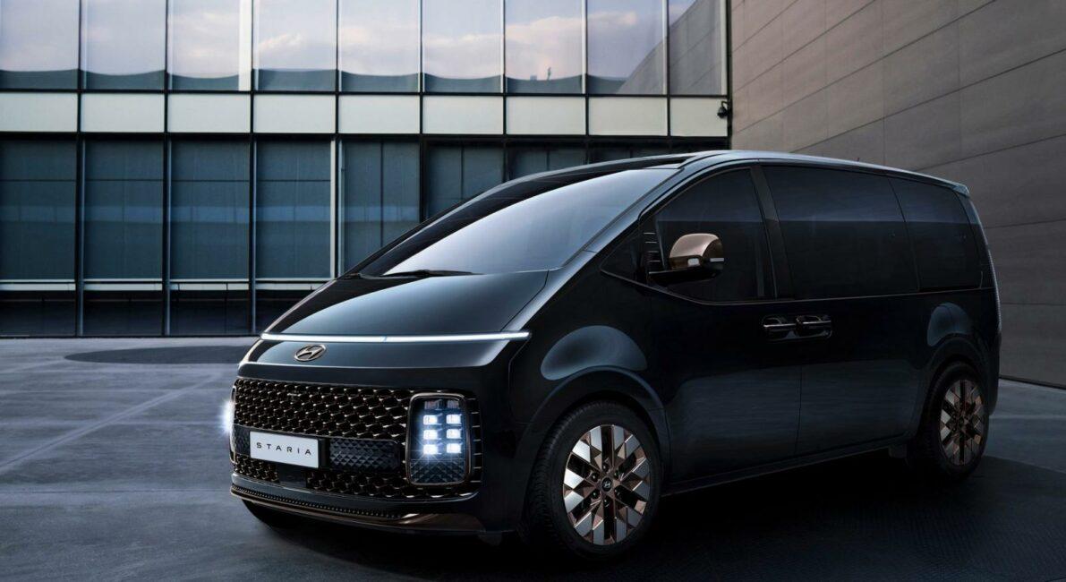 Hyundai Staria Revealed Ahead of Debut 14