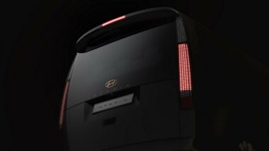 Hyundai Staria Revealed Ahead of Debut 13